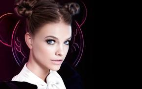 Barbara Palvin, face, girl, model, blue eyes