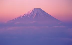 landscape, mountain, Japan, Mount Fuji
