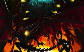 Metroid, Samus Aran, Ridley