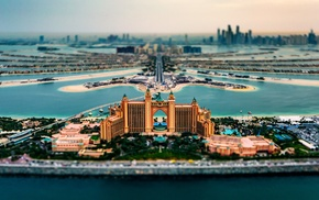cityscape, island, sea, United Arab Emirates, hotels, architecture