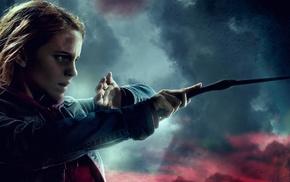 wizard, girl, Emma Watson, Harry Potter, movies, Hermione Granger