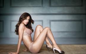 Adriana Lima, brunette, model, girl