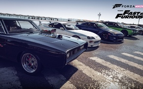 Fast and Furious, Forza Motorsport, Forza Horizon 2, video games