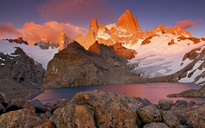 nature, South America, rock, landscape, mountain, Chile