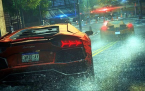 digital art, Lamborghini Huracan LP 610, 4, video games, Need for Speed, sports car