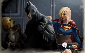 Supergirl, Scarecrow character, Batman, DC Comics
