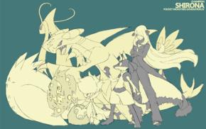 Pokemon, Cynthia Pokmon, Garchomp, Togekiss, Roselia, Spiritomb