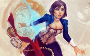 Elizabeth BioShock, artwork, video games, BioShock, BioShock Infinite