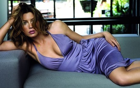 couch, Jessica Biel, actress, girl