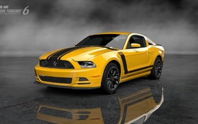 boss 302, Gran Turismo 6, Ford Mustang, car, video games