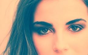 model, girl, eyes