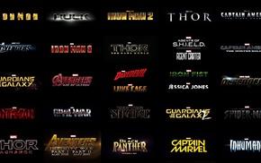 Iron Fist, Iron Man, Daredevil, Captain America The First Avenger, Thor 2 The Dark World, Hulk