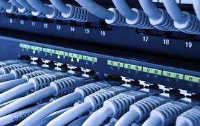 server, computer, ethernet, network, technology