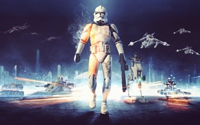 clone trooper, Star Wars, Battlefield