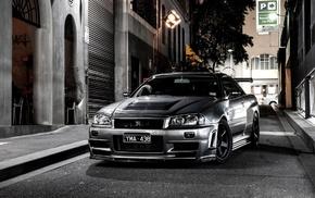 Nissan, Nissan Skyline GT, R R34 Nismo Z, Tune, Nismo, skyline