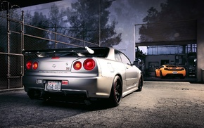 Nissan Skyline GT, R R34 Nismo Z, Tune, Nissan Skyline GT, R R34, Nismo