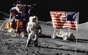 Apollo, moon, space, astronaut