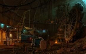 video games, underground, S.T.A.L.K.E.R. Call of Pripyat, digital art, concept art, artwork