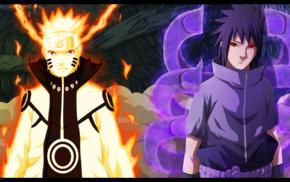 anime boys, Uchiha Sasuke, Susanoo character, Naruto Shippuuden, Uzumaki Naruto, manga