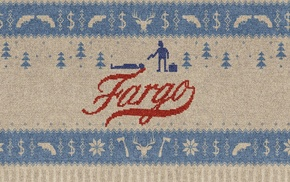 decorations, movie poster, Fargo, movies, trees, TV