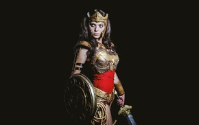 girl, sword, Wonder Woman