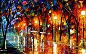 Leonid Afremov, painting