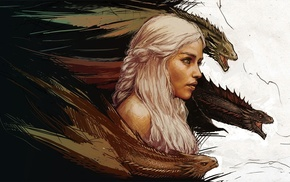 Game of Thrones, Emilia Clarke, Daenerys Targaryen