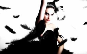 Natalie Portman, Black Swan, feathers