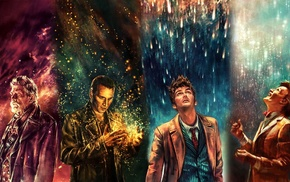 alicexz, Eleventh Doctor, Doctor Who, Tenth Doctor, artwork