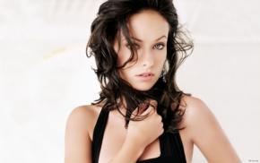 brunette, girl, Olivia Wilde