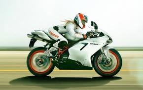 Ducati 848 EVO, blonde