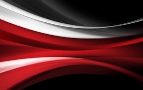 red, stripes, abstract, vector art