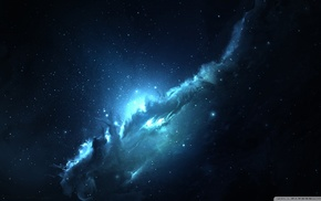 stars, space art, nebula, galaxy, Starkiteckt, space
