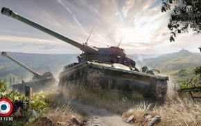 World of Tanks, AMX 13 90, video games, wargaming