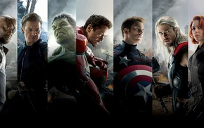 Iron Man, Fury, movies, Hulk, Scarlett Johansson, Robert Downey Jr.