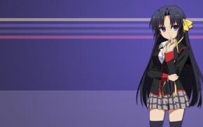 anime, Little Busters, school uniform, Scope10, Kurugaya Yuiko, anime girls