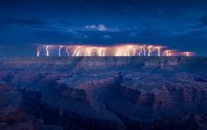 landscape, storm