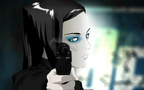 anime girls, Re, l Mayer, anime, Ergo Proxy, gun