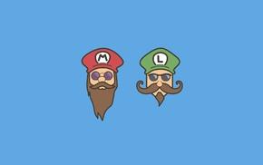 Mario Bros., minimalism