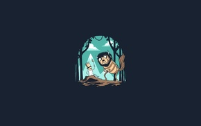 Jake the Dog, Finn the Human, minimalism, Where the Wild Things Are, Adventure Time