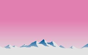 minimalism, mountain pass