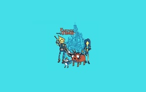 Final Fantasy, Adventure Time, minimalism