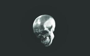 minimalism, skull, disco