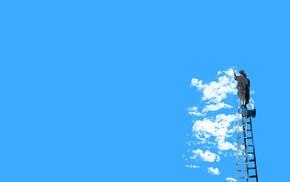 clouds, minimalism