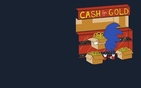 Sonic the Hedgehog, minimalism