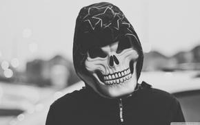 skull, minimalism