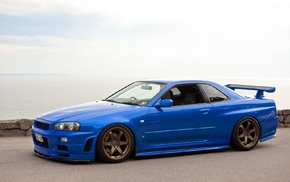 Nissan Skyline GT, R R34, StanceNation, Japan, skyline, Nissan