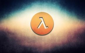 logo, Half, Life, video games
