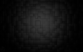 Cinema 4D, cube, black, minimalism