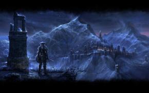 mmorpg, fantasy art, video games, The Elder Scrolls Online